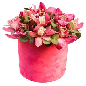 """Цветы в коробке """"Орхидеи"""""""